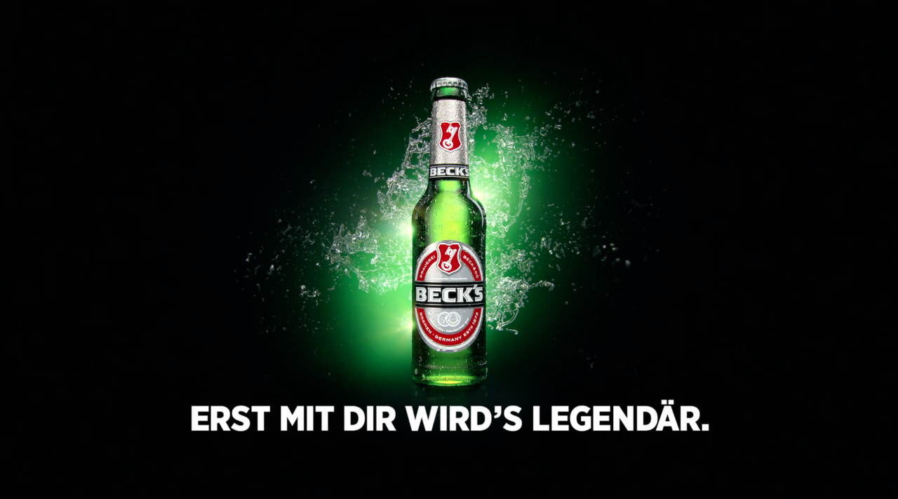 Music supervision for BECKS beer
