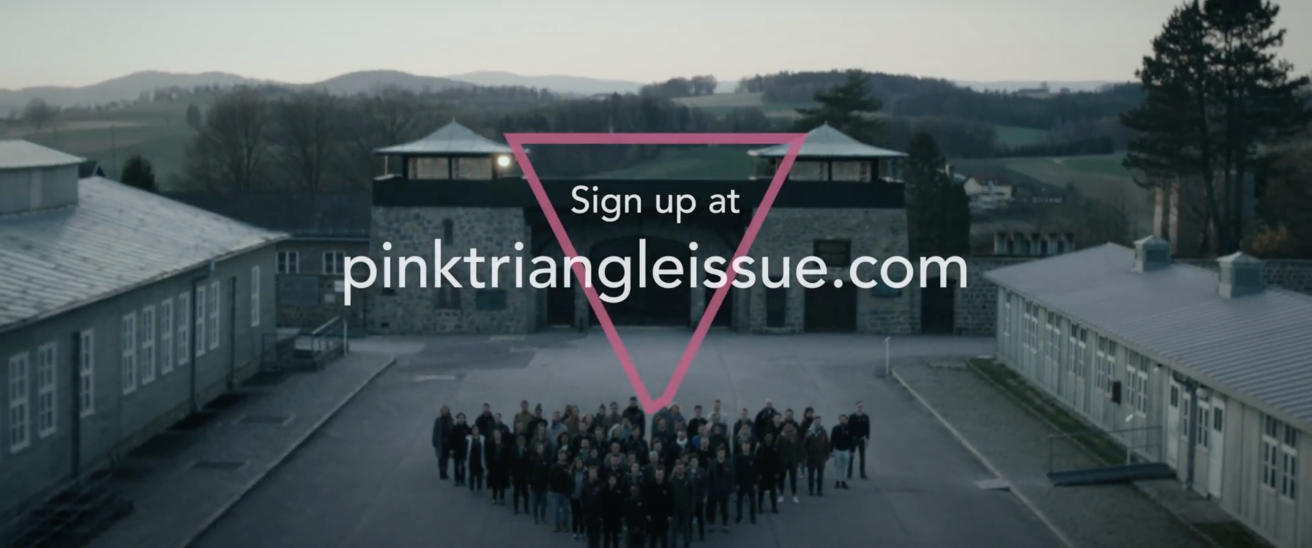 Spark supports the Pink Triangle Issue